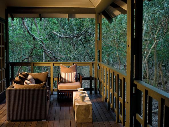 Phinda Forest Lodge - private deck