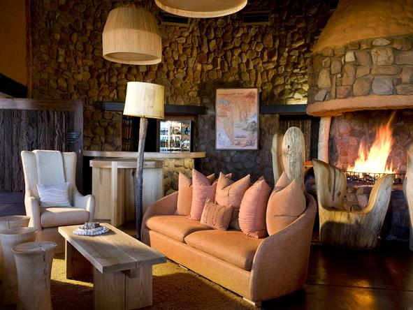 Motse Lodge - lounge
