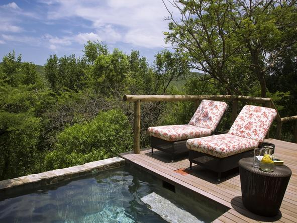 Phinda Mountain Lodge - private pool