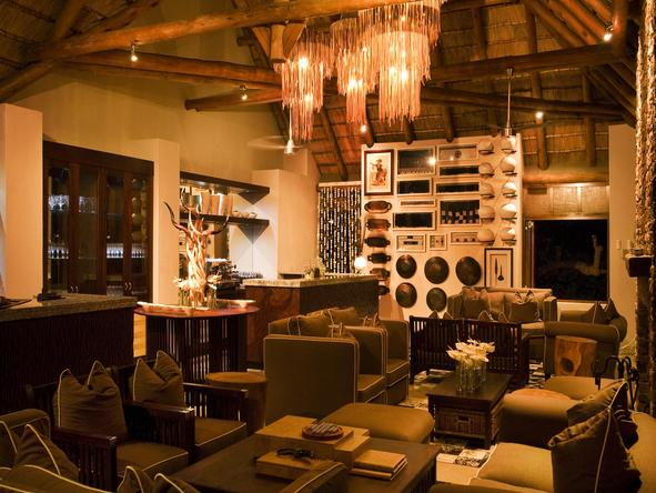 Phinda Mountain Lodge - lounge
