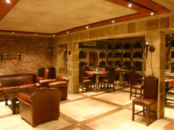 Franschhoek Country House - wine cellar