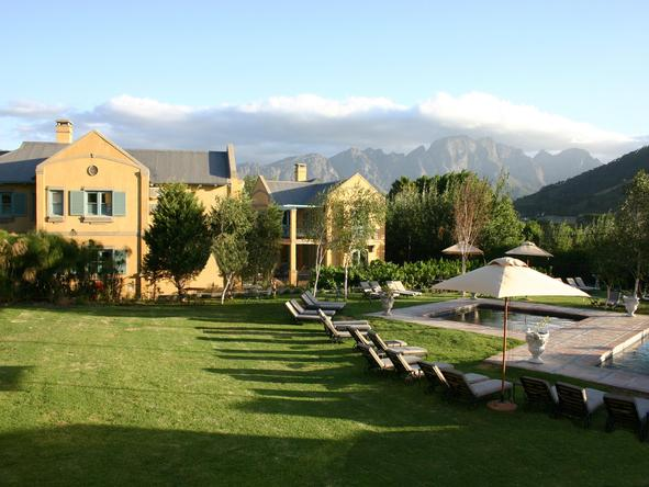 Franschhoek Country House - garden