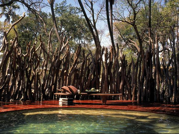Sandibe Okavango Safari Lodge - swimming pool