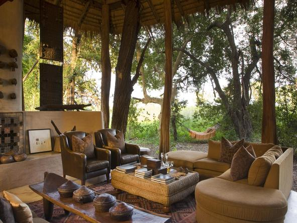 Sandibe Okavango Safari Lodge - lounge