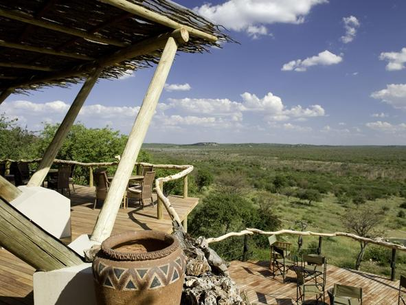 Ongava Lodge - deck 2