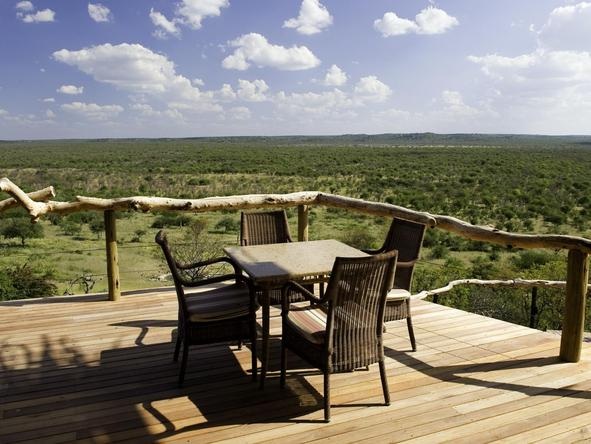 Ongava Lodge - deck