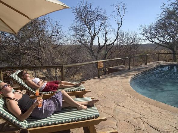 Ongava Lodge - pool