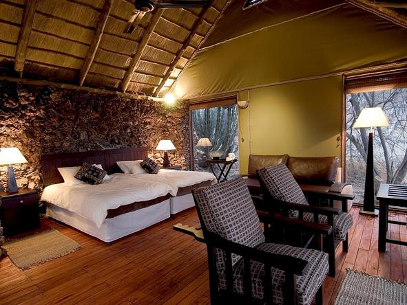 Ongava Lodge - bedroom 2