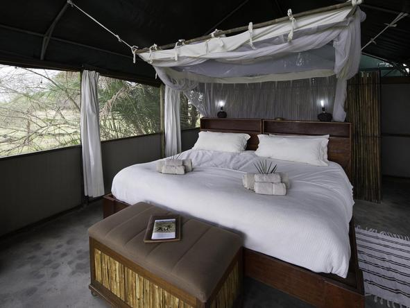 Busanga Bush Camp - bedroom