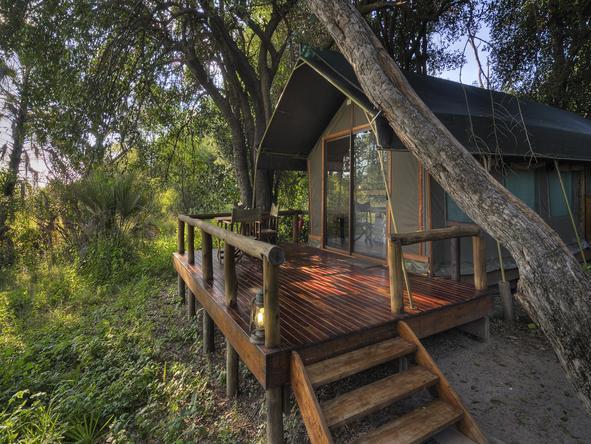 Camp Okavango - tent exterior
