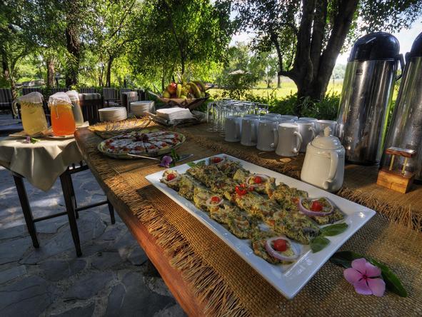 Camp Okavango - cuisine