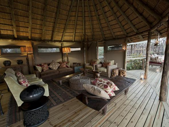 Banoka Bush Camp - Lounge