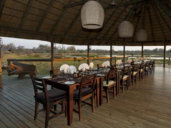 Banoka Bush Camp - Dining