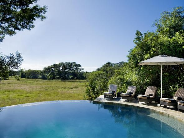Phinda Forest Lodge - pool area