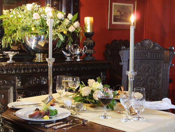 Hunters Country House - dining