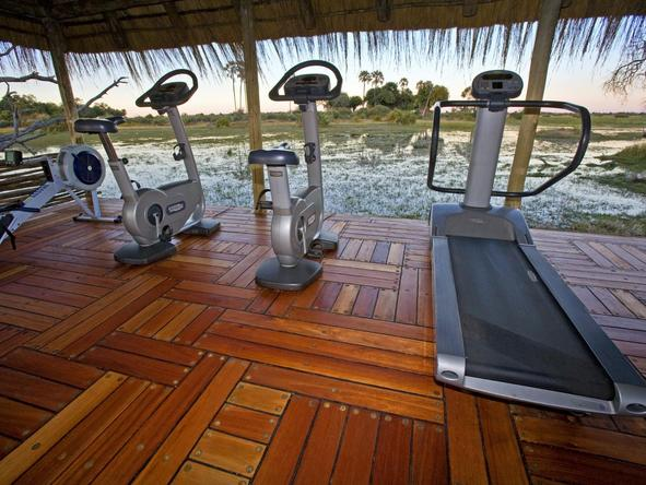 Mombo Camp - gym