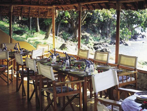 Mfangano Island Camp - dining