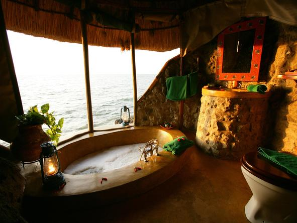 Mfangano Island Camp - bathroom 2