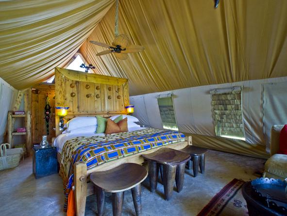 Grumeti Serengeti Tented Camp - luxury tent