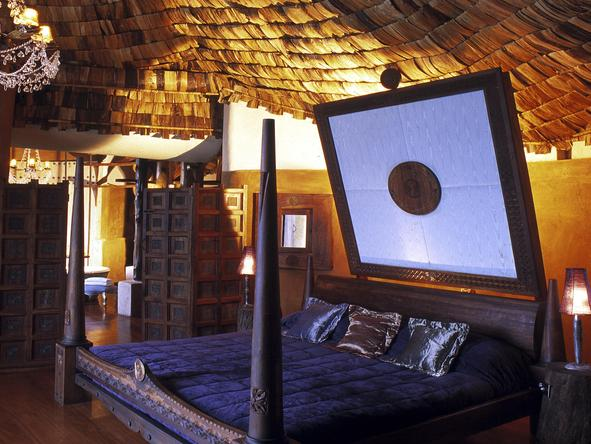 Ngorongoro Crater Lodge - bedroom