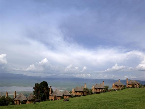 Ngorongoro Crater Lodge - suites exterior 2