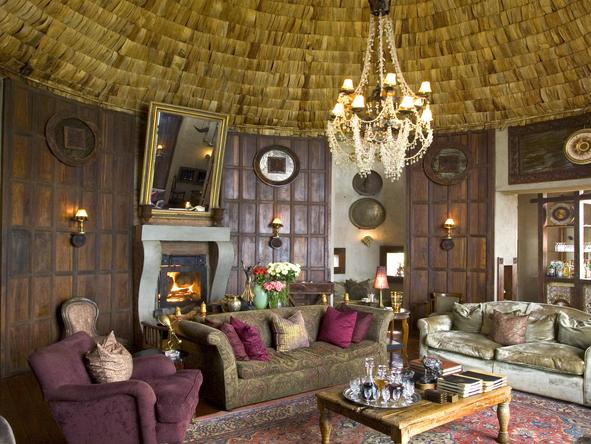 Ngorongoro Crater Lodge - camp interior