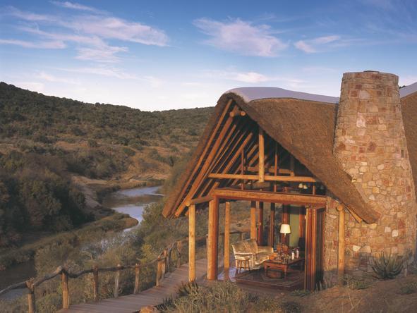 Kwandwe Great Fish River Lodge - suite exterior