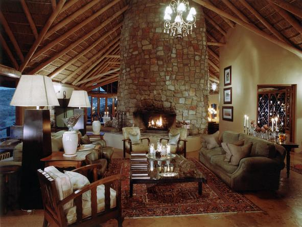 Kwandwe Great Fish River Lodge - main lodge interior