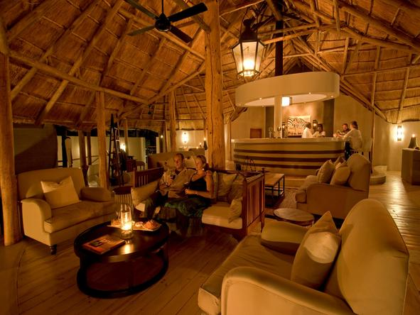 Sussi and Chuma Lodge - main lounge
