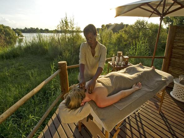 Sussi and Chuma Lodge - massage