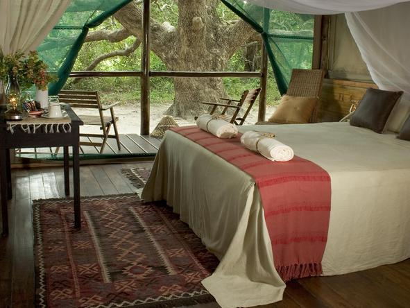 Kosi Forest Lodge - bedroom