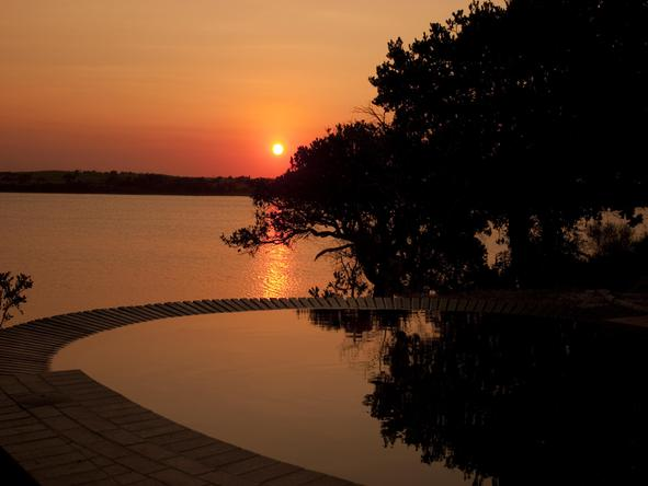 Kosi Forest Lodge - sunset