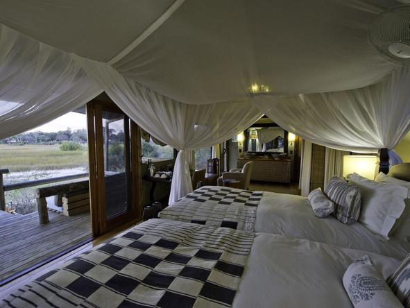 Little Vumbura - luxury tent