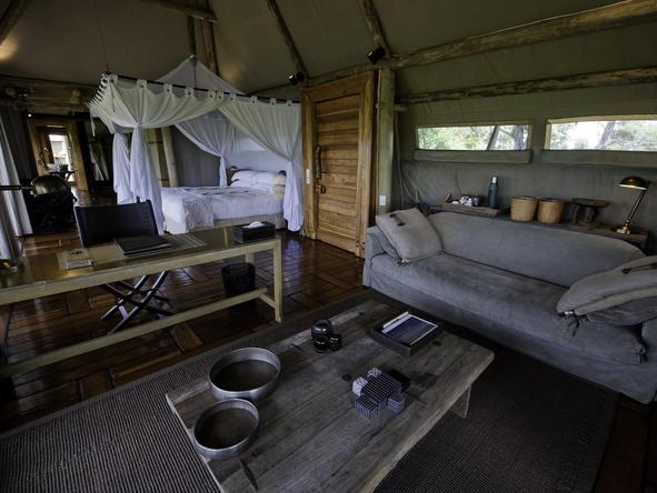 Little Mombo - tent interior