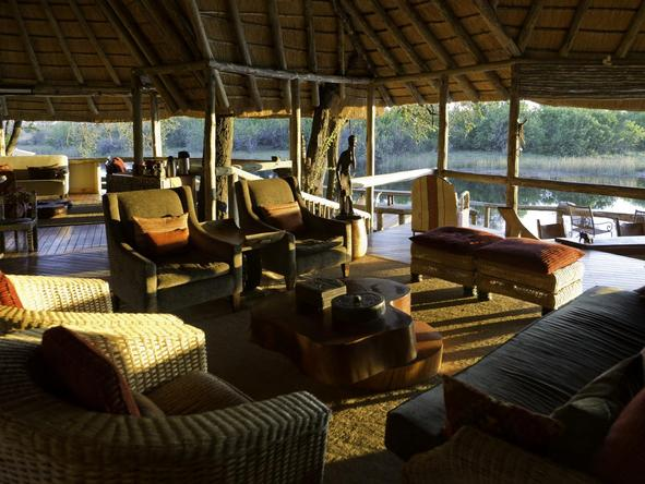 Savuti Camp - lounge