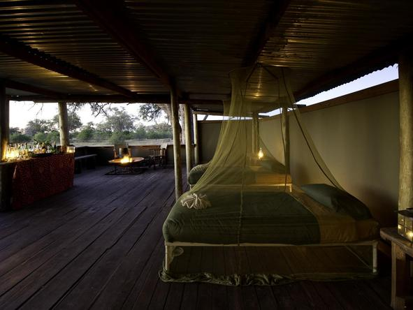 Savuti Camp - bedroom