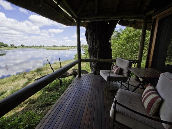 Savuti Camp - birdwatching