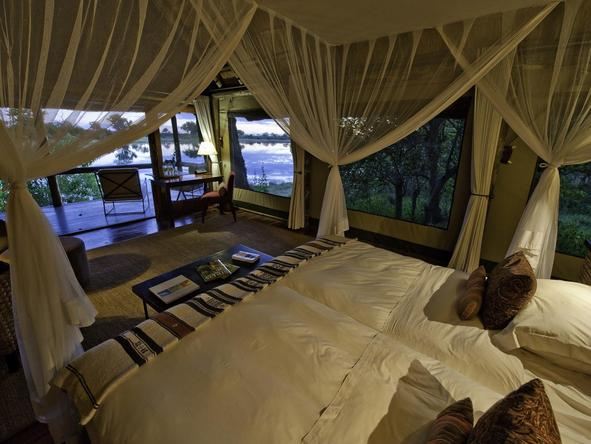 Savuti Camp - luxury room