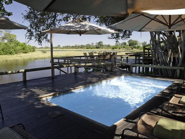 Savuti Camp - pool