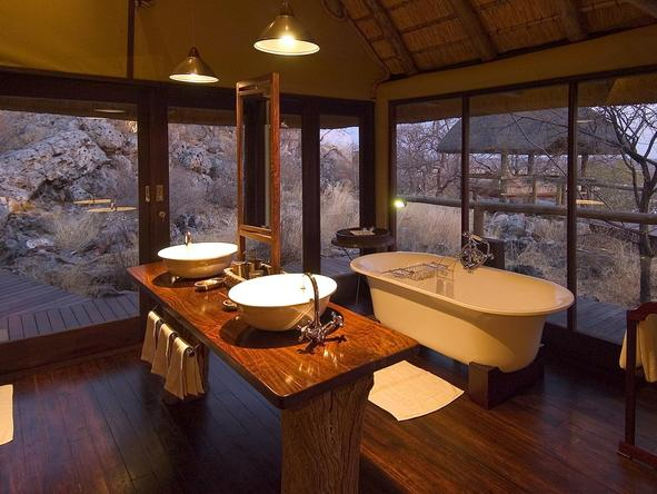 Little Ongava Camp - bathroom