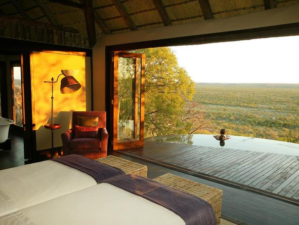 Little Ongava Camp - plunge pool