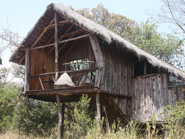 Ngong House - private deck