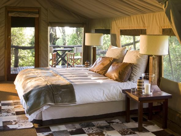 Nxabega Okavango Safari Camp - bedroom