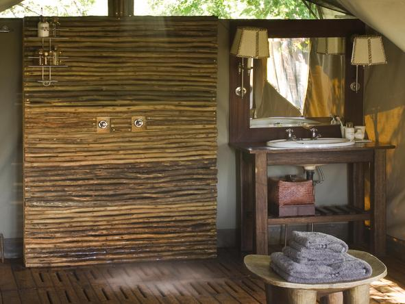 Nxabega Okavango Safari Camp - bathroom