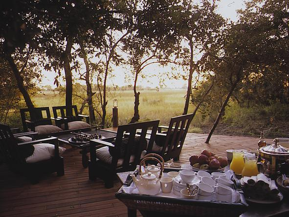 Nxabega Okavango Safari Camp - afternoon tea
