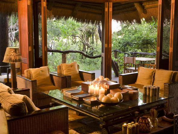 Nxabega Okavango Safari Camp - loung
