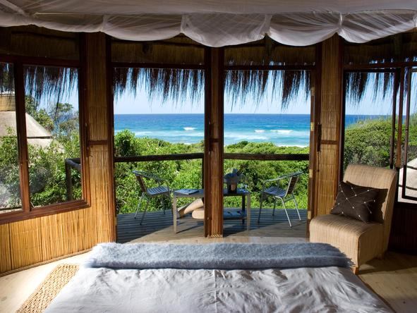 Thonga Beach Lodge - bedroom