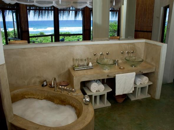 Thonga Beach Lodge - bathroom