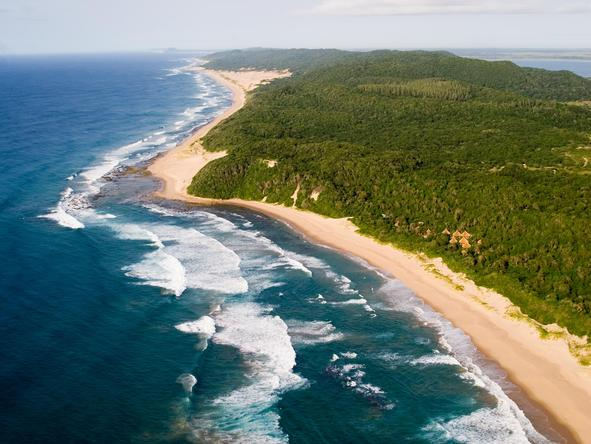 Thonga Beach Lodge - location
