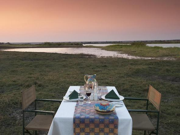 Imbabala Lodge - Dining